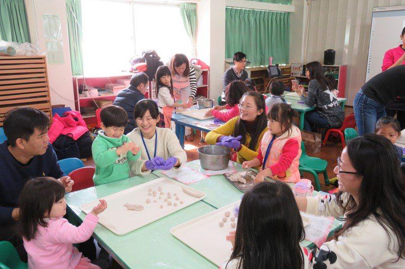彰化縣政府推動非營利幼兒園,和鄉鎮市公所一起提供平價托育服務。圖/縣政府提供