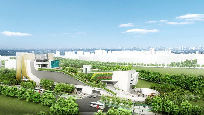 原打算設在中台灣電影中心的國家漫畫博物館,在電影中心即將完成,文化部卻突然發表聲明要換地點、不設台中。圖/台中市府提供