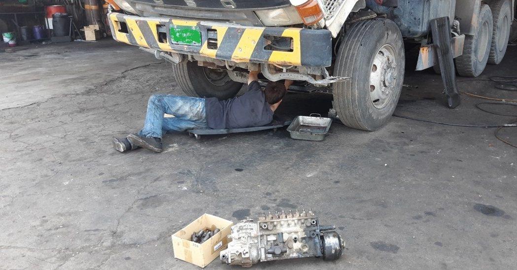 環保署已修正大型柴油車調修補助, 釋出大利多。記者鄭惠仁/攝影