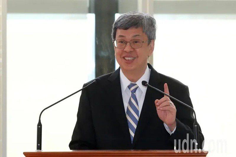 副總統陳建仁卸任後,將回任中研院擔任特聘研究員。本報資料照片
