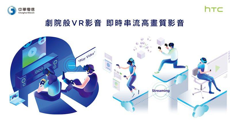 中華電信與HTC宣布攜手布局5G,將打造高畫質VR演唱會內容。HTC提供