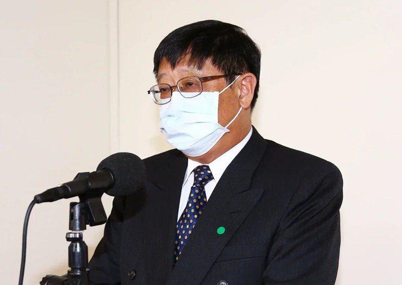 環保署長張子敬。本報資料照片