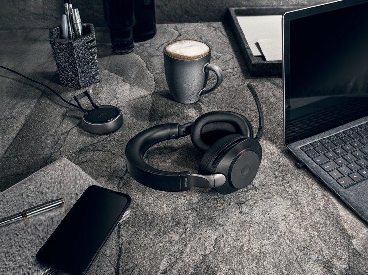 Jabra Evolve2 85,建議售價17,800元起。圖/Jabra提供
