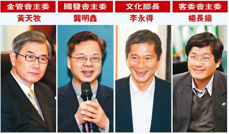 行政院長蘇貞昌昨天在行政院會率內閣總辭,府院黨隨即啟動新人事布局。 圖/聯合報系資料照片