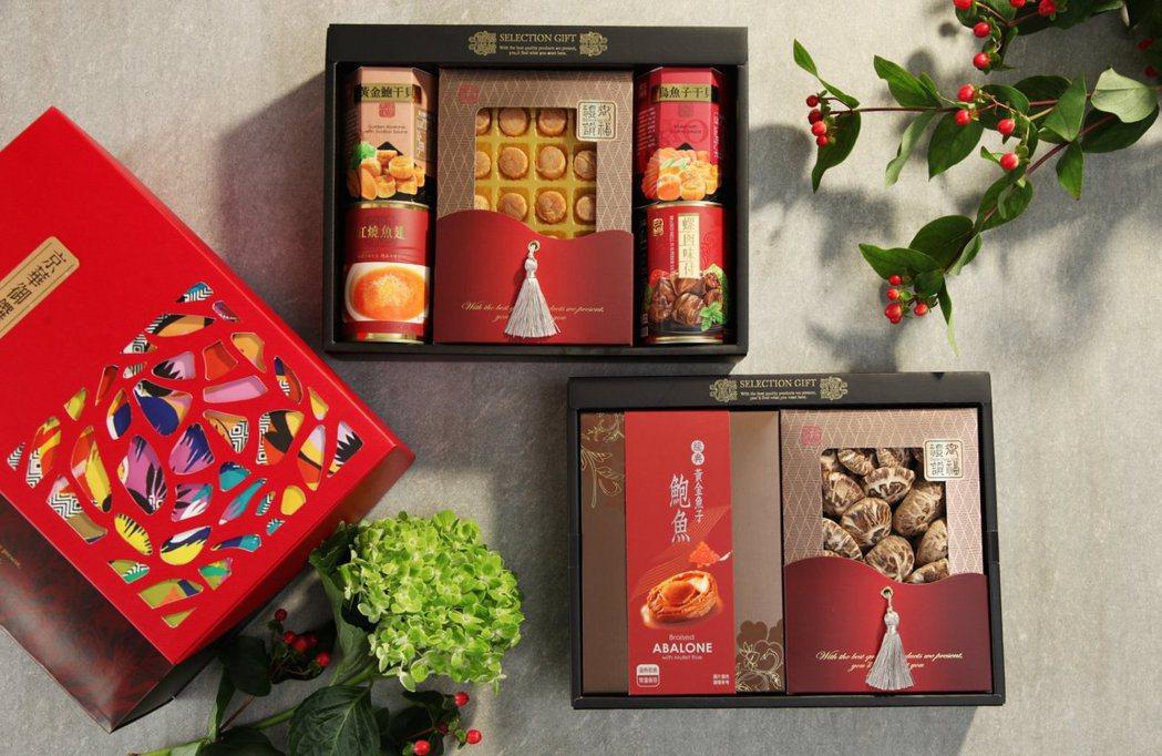 春節禮盒照片。大盛屋/提供