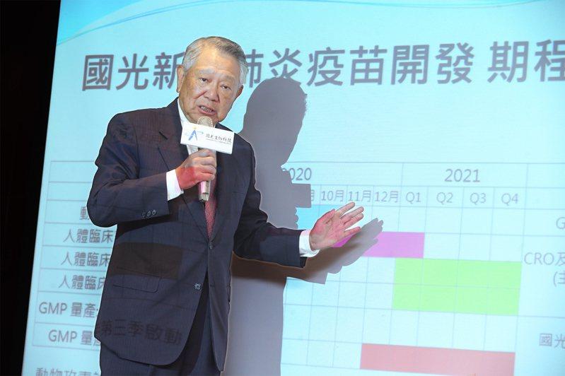 國光生技董事長詹啟賢。聯合報系資料照