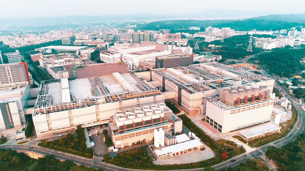新竹科學園區有「台灣矽谷」之稱。本報資料照片