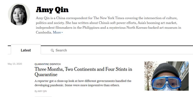 圖/截自紐約時報