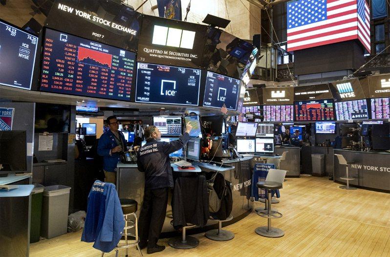 美股今收漲,道瓊工業指數終場勁揚377.37點或1.62%,收在23625.34點。美聯社