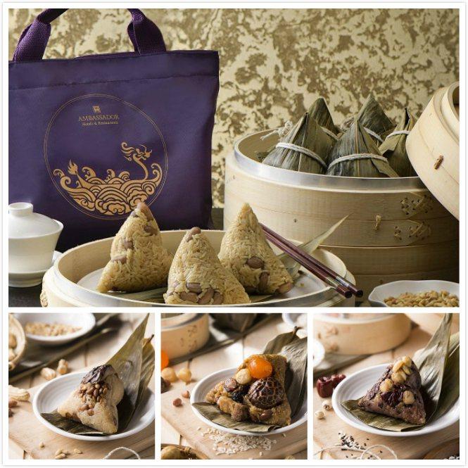 高雄國賓飯店粽子禮盒向來講究食材的真材實料與師傅的精湛手藝,即起接受預訂,凡購滿...