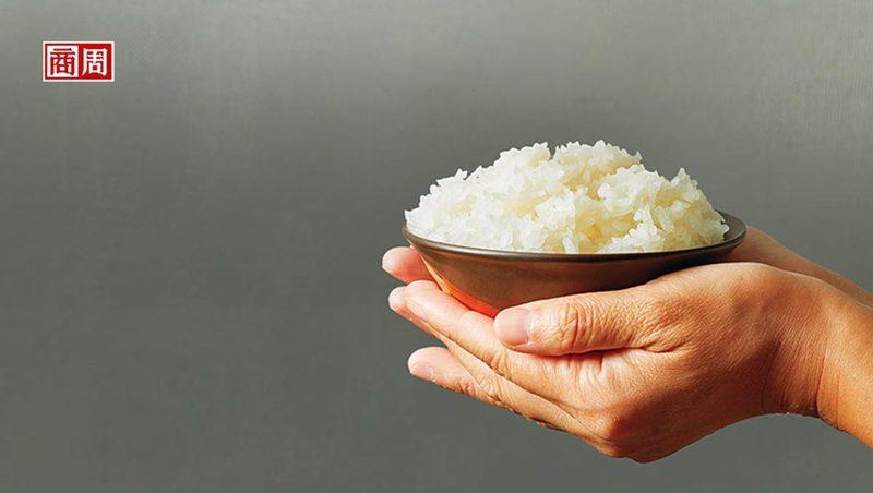 芋香與米香相輔相成,是冠軍香米「高雄147號」的最大特色。(攝影者.王文廷)
