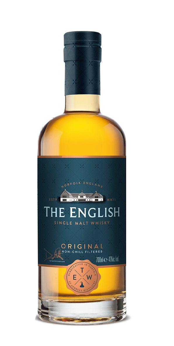 英國英吉利經典單一麥芽威士忌。業者/提供