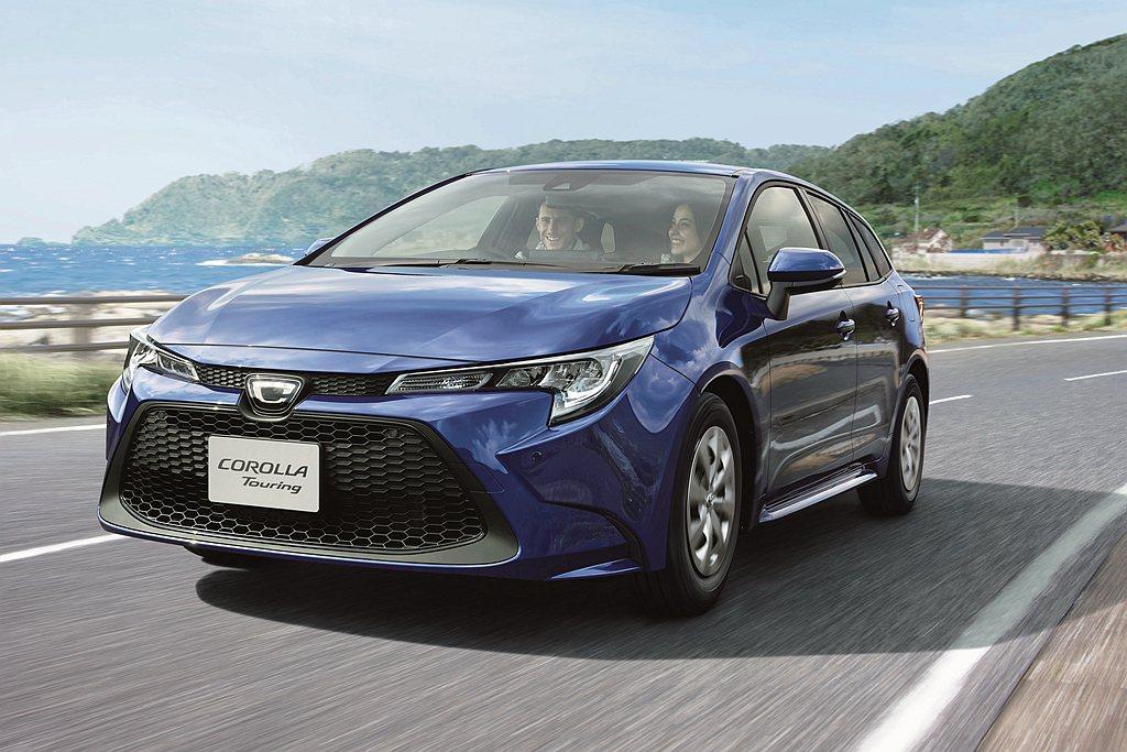 日本針對Toyota Corolla車系進行銷售調整,房車與旅行車皆新增1.8L...
