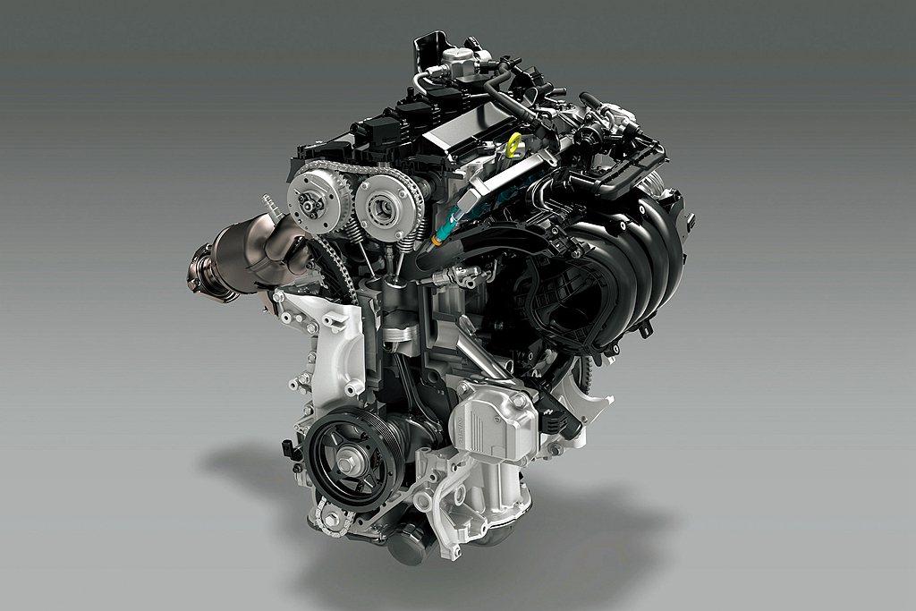 此具Dynamic Force 2.0L自然進氣汽油引擎,可輸出170ps最大馬...