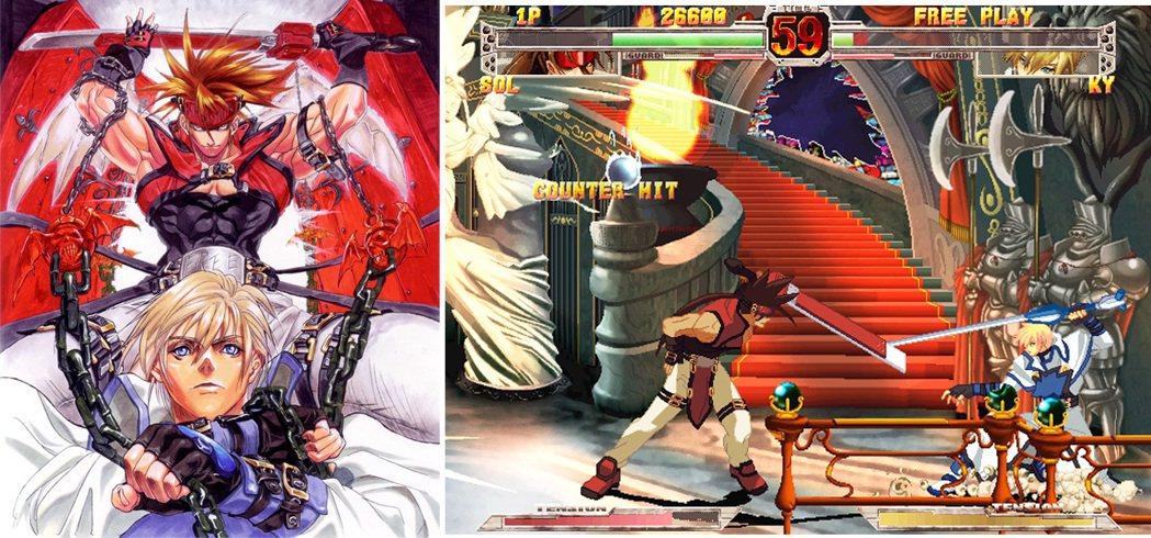 2000 年首先於大型電玩上出現的《聖騎士之戰X》,整體質感更上一層樓,畫面、角...