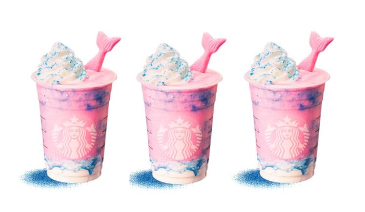 星巴克推出仙女系飲品。  圖/星巴克