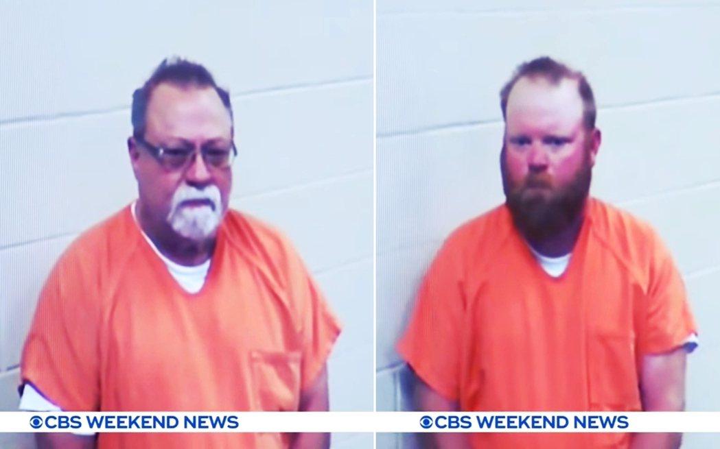 葛瑞格里父子後來終於在5月7日,以謀殺罪、嚴重傷害罪逮捕。 圖/《CBS》