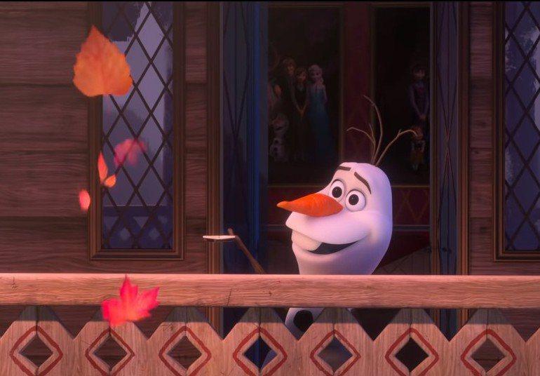 迪士尼13日推出雪寶全新單曲。圖擷自迪士尼官方YouTube