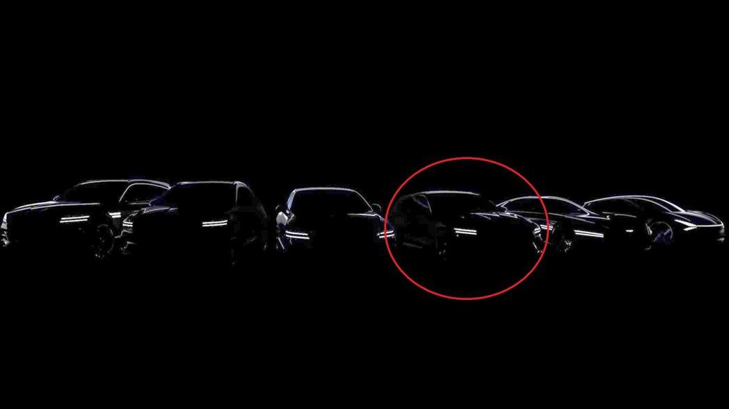 新世代Genesis G80介紹影片中,出現疑似G70 Wagon的剪影圖 (紅...