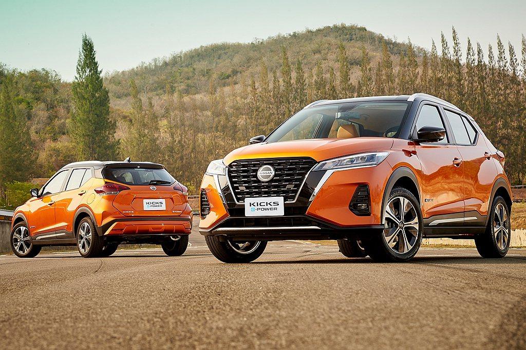 小改款Nissan Kicks正式在泰國發表,新增程電動系統是最大亮點。 圖/N...
