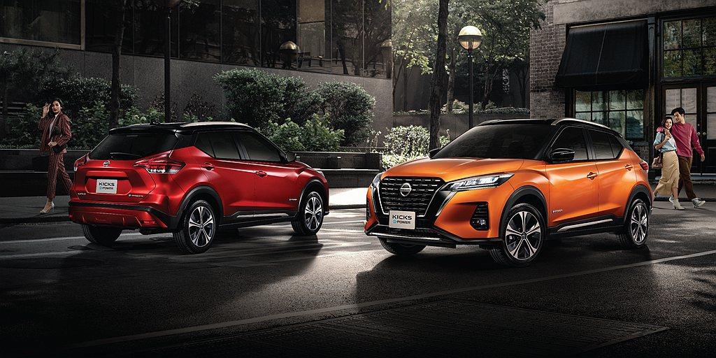 小改款Nissan Kicks換上品牌最新「V-Motion」設計語彙,車尾導入...