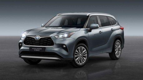 超人氣七人座休旅 大改款Toyota Highlander明年確定導入歐洲!