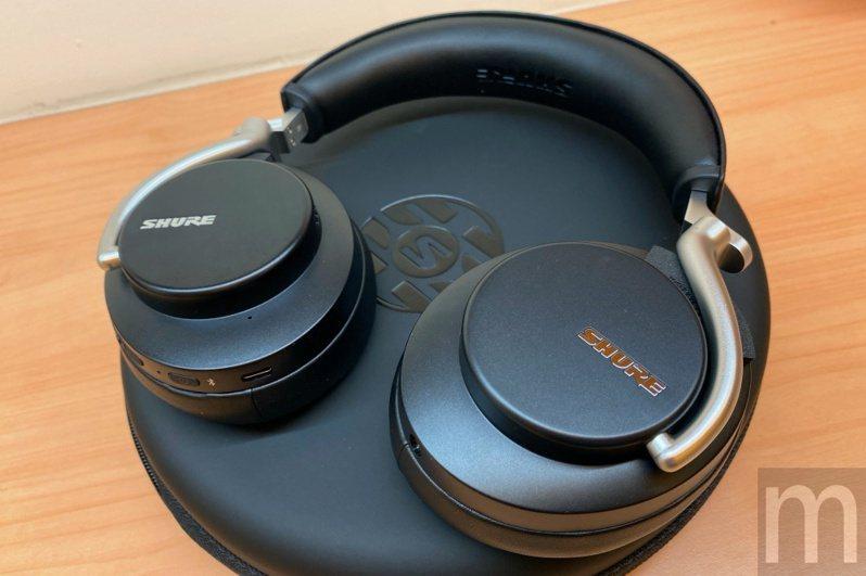 ▲Shure全罩式主動降噪耳機Aonic 50