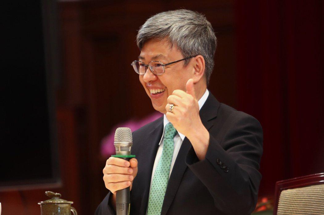 副總統陳建仁。(中央社)