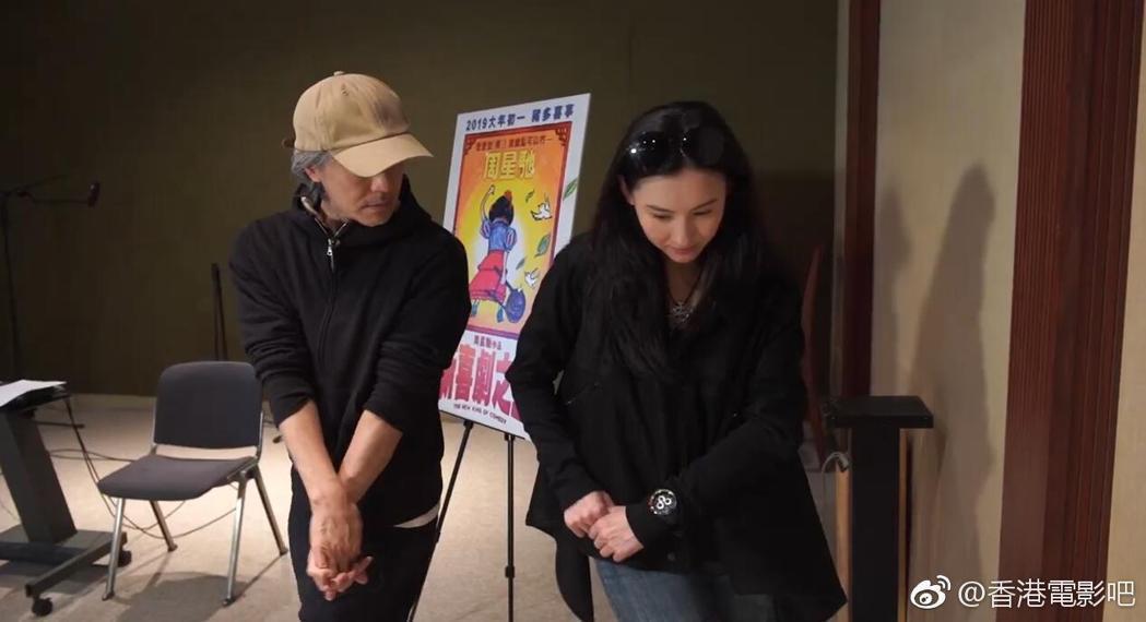 張柏芝與周星馳先前才再度合作「新喜劇之王」。圖/摘自微博