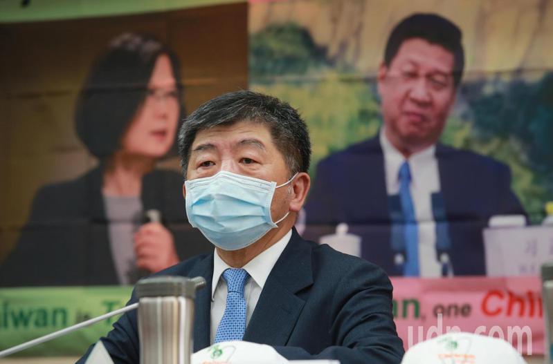 衛生福利部長陳時中。聯合報系記者許正宏/攝影