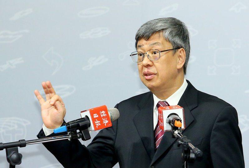 副總統陳建仁。圖/本報資料照片