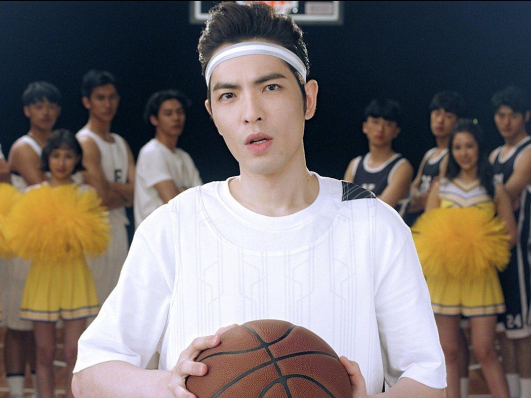 蕭敬騰受邀擔任「灌籃高手 SLAM DUNK」正版擔任手遊大使。圖/喜鵲娛樂提供