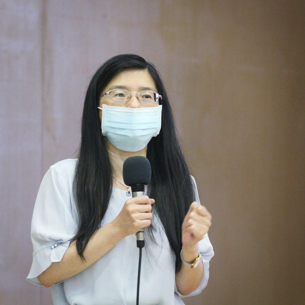 國立陽明大學教授陳映燁。記者李隆揆/攝影