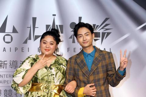 台北電影獎下午舉行入圍名單記者會,【揭曉嘉賓】林鶴軒、蔡嘉茵。