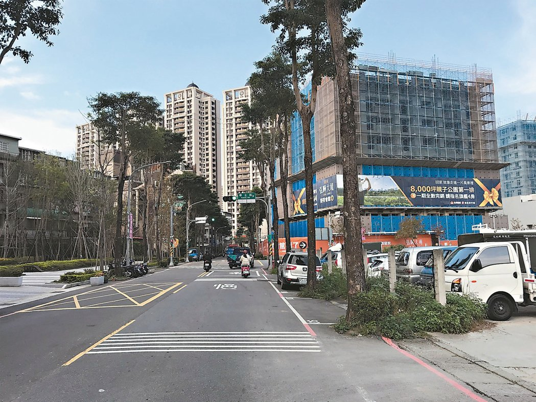 土城重畫區房市後市看好。 記者游智文/攝影
