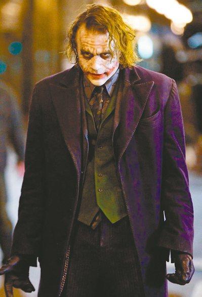 希斯萊傑飾演反派「小丑」令人難忘。 圖/華納兄弟提供