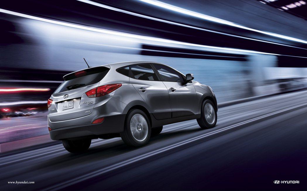 第二代Hyundai Tucson。 摘自Hyundai