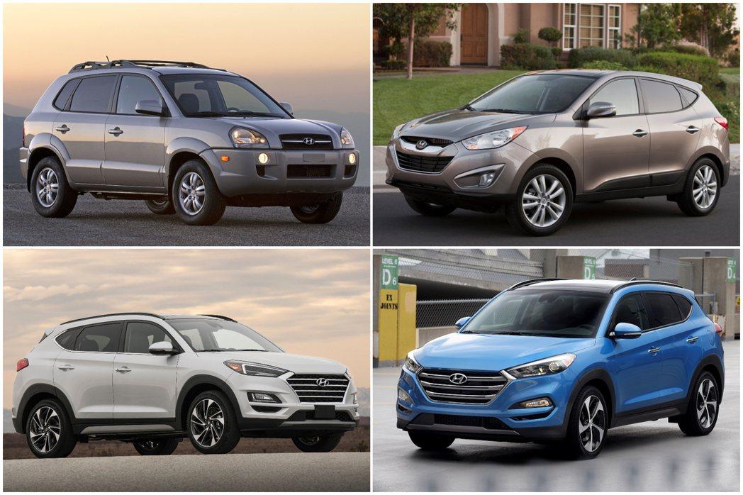 目前車系已進入三代車型的Hyundai Tucson,即將於今年迎接大改款第四代...