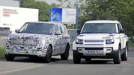 新世代Range Rover偽裝登場 還找來Defender作伴亮相!