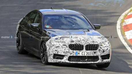 2021小改款BMW M5紐柏林殺四方 內外均有感升級!