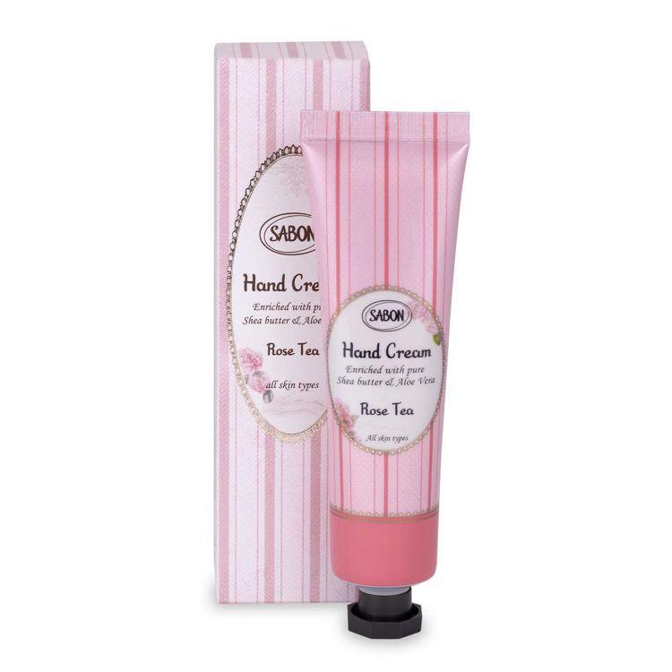 SABON玫瑰茶語護手霜/50ml/480元。圖/SABON提供