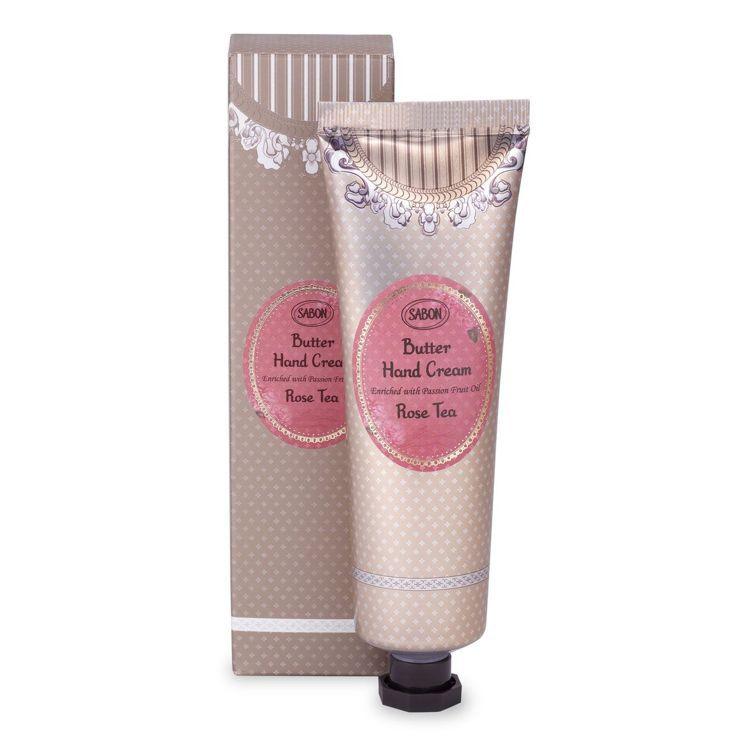 SABON玫瑰茶語極潤護手霜/75ml/880元。圖/SABON提供