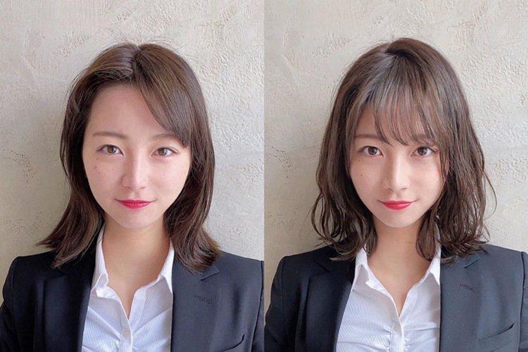 這根本是整形般的換髮型啊。圖/摘自tenhouo IG