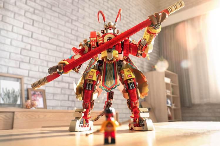 LEGO樂高首度推出以華人經典故事為主題的全新系列,將「西遊記」改編推出「Mon...
