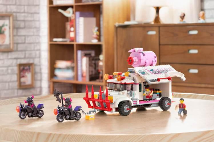 LEGO樂高「Monkie Kid悟空小俠」系列以「西遊記」為背景,並將故事搬到...