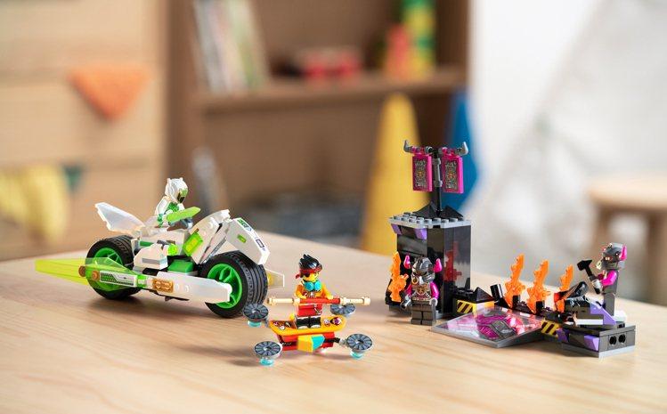 LEGO樂高「Monkie Kid悟空小俠」系列-白龍馬戰車,售價1,199元。...