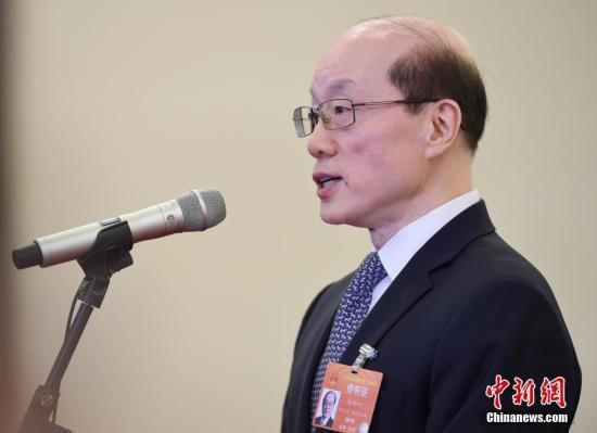 大陸國台辦主任劉結一。圖/中新社資料照片