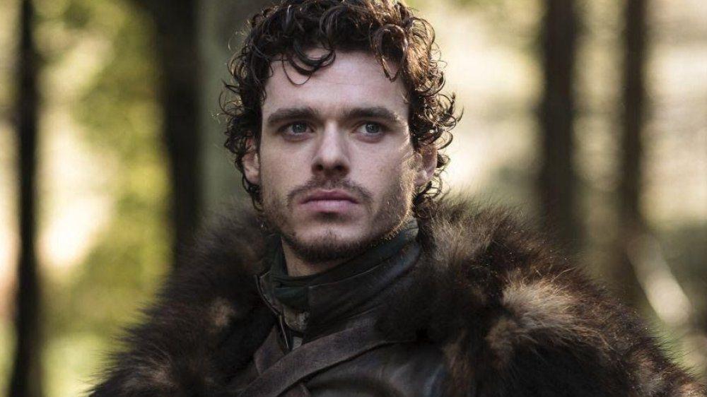 李察馬登在「冰與火之歌:權力遊戲」扮演史塔克家的長子羅柏。圖/摘自HBO