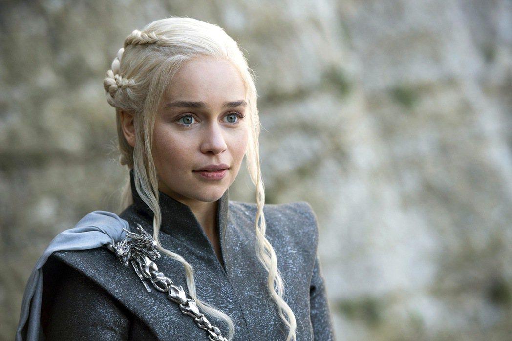 艾蜜莉亞克拉克是「冰與火之歌:權力遊戲」女主角。圖/摘自HBO