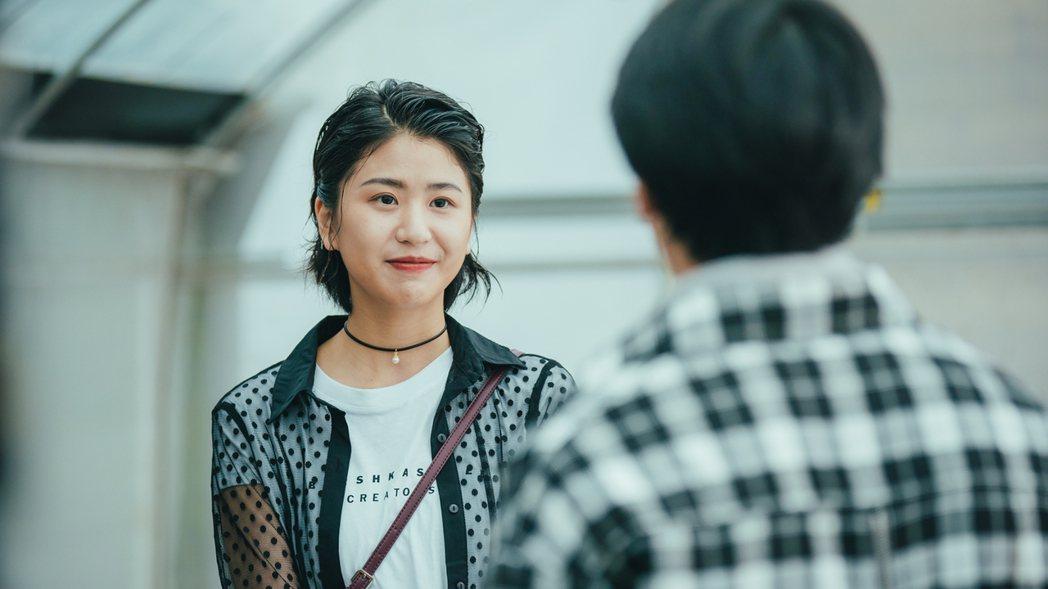 陳璇在「若是一個人」是個富正義感的女生。圖/華視提供